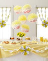 MarthaCelebrations Lemon Party