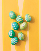 How to Create a Pattern on Easter Eggs