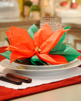Holiday Table Decorations from ''The Martha Stewart Show'' and More