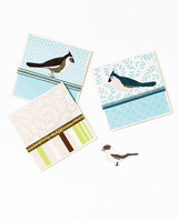 Glittered Cards and Gift Tags
