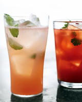 Summer Drinks and Cocktails