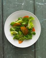 persimmon salad