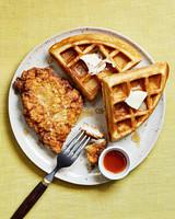 fried chicken waffles
