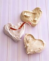 pillowy meringue hearts