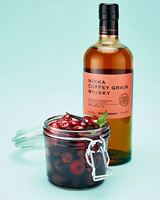 homemade cocktail cherries