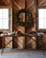 rustic thanksgiving tablesetting