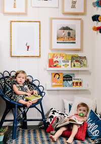 How to Create a Cool Kids' Reading Nook
