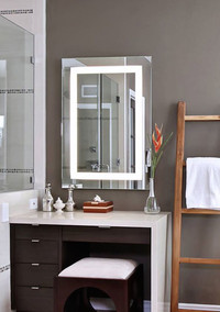 Finally! A Fog-Free Bathroom Mirror that Plays Music and Answers Phone Calls