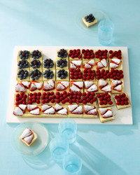 flag dessert patriotic fourth of july