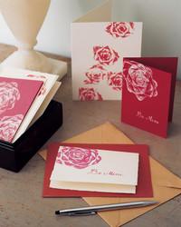 Rosy Stationery