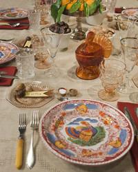 Martha's Thanksgiving Table Setting