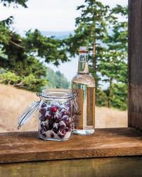 Cherry Plums in Vodka
