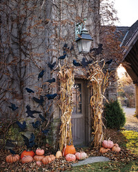 Halloween Decorations Made From Nature's Bewitched Bounty