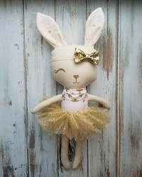 This One-Eyed Bunny Doll Was Made to Match a Special Little Girl