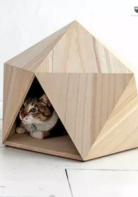 Find Out Why These Pet Beds are Based on Japanese Snow Huts