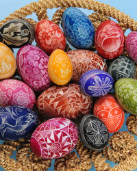 Etched Eggs