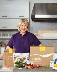 Special Delivery from Martha! She's Teaming Up with Marley Spoon to Bring You Easy Weeknight Dinners