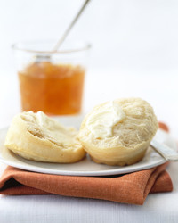 angel biscuits with butter