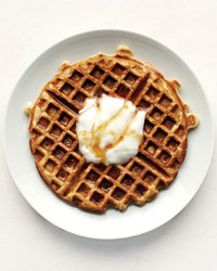 Orange Waffles Recipe | Martha Stewart