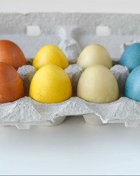 Natural Easter Egg Colors to Dye For