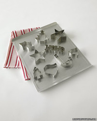 Drying Cookie Cutters