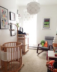 From Storage Space to Cozy Baby Nursery: See the Before and After Pictures