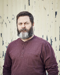 Nick Offerman Shares His New Woodworking Book and Dream DIY Project