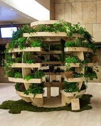 Build Your Own Spherical Plant Room With Free Blueprints
