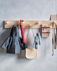 Craft Coat Hooks from Shaker Peg Rails