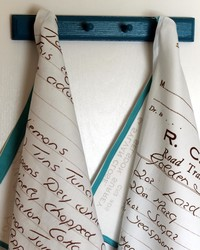 How to Turn Your Handwritten Recipes into Heirloom Tea Towels