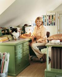 Cantitoe Corners: Martha's Crafts Room