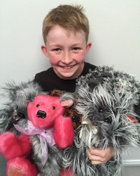 This 12-Year-Old Boy is Using His Sewing Machine to Make Toys for Sick Children