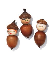 "Craft a Cute Acorn ""Family"""