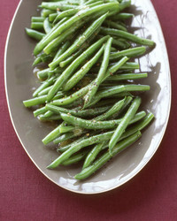 Green Beans with Vinaigrette