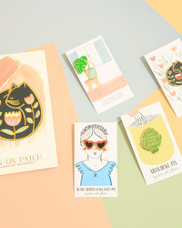 We Adore This One-of-a-Kind Collection of Whimsical Pins and Patches