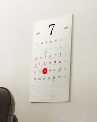 Keep Your Life Straight with This Smart Wall Calendar
