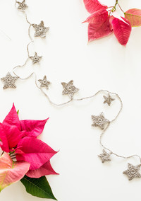 How to Crochet a Star Garland