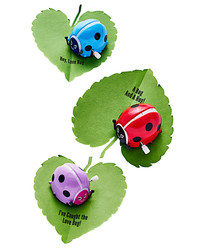 Kids Will Flip Over These Adorable Love Bug Valentines