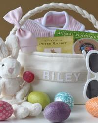 A Fabulously Chic Designer Easter Basket for Kids