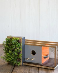 These Modern Birdhouses are Modeled After Iconic Architecture