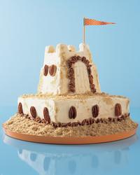 vanilla pecan sand castle