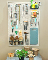 Pegboard Storage Solution