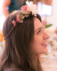Making Floral Crowns at Erin Fetherston's Cosabella Launch Party