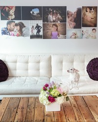 Liven Up Your Living Room with Photo Wallpaper