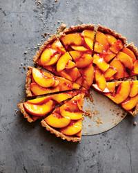 Amy Chaplin's Vegan Peach Tart