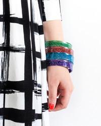 12 Months of Martha: DIY Glitter Bangles