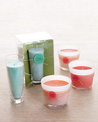 Scented Soy Votive Candles