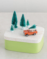 Miniature Christmas Gift Boxes