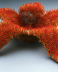 These Aquatic-Inspired Sculptures Are Made Entirely From Colored Pencils
