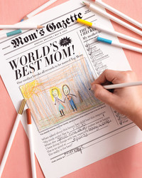 Clip Art and Templates for Mother's Day Gifts